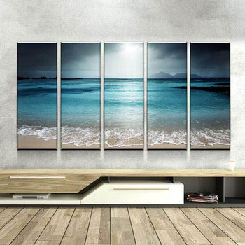 Seascape Canvas Set