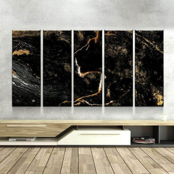 Golden Lioness Canvas Set
