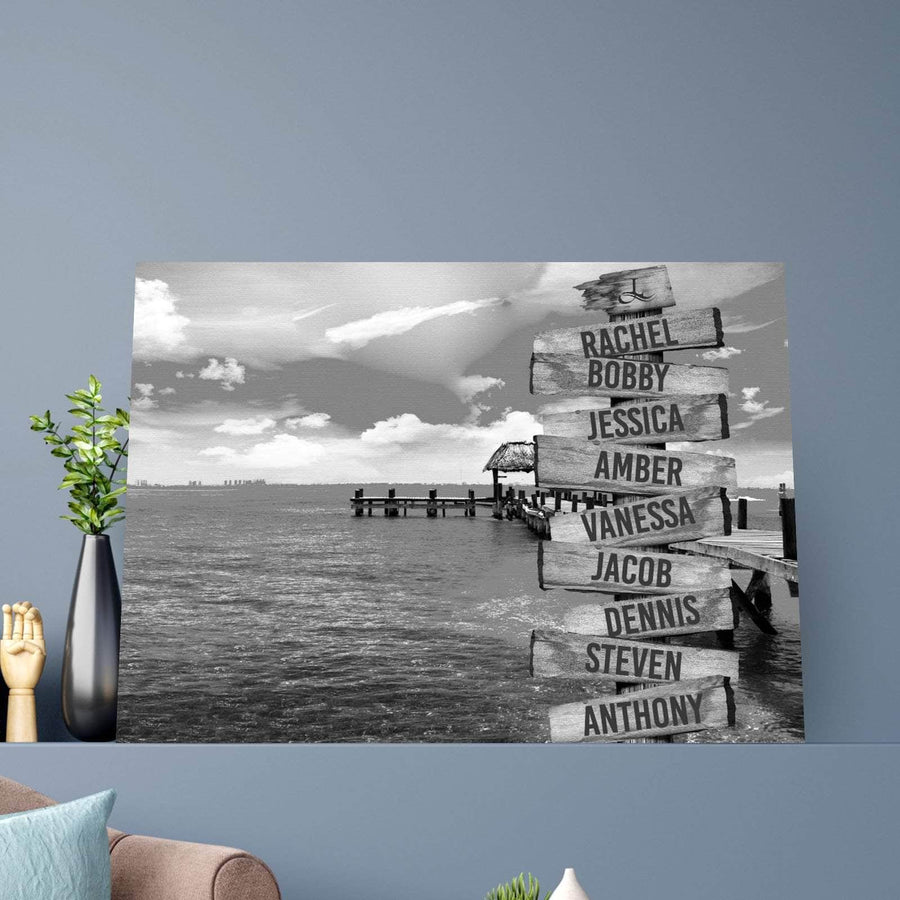 Wooden Signs Custom Canvas Set