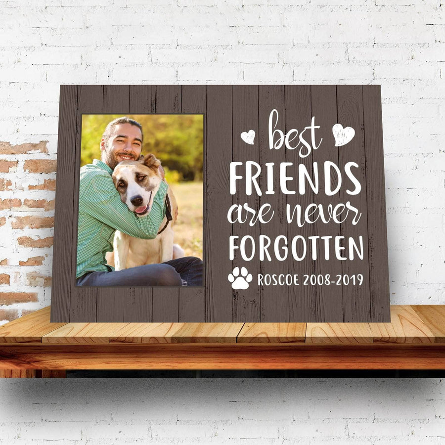 never forgotten pet Custom Canvas Set