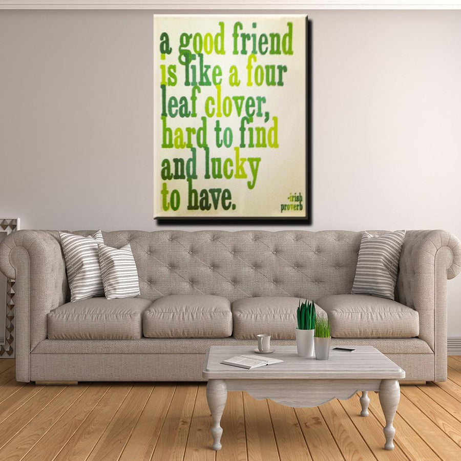 A Good Friend Canvas Set