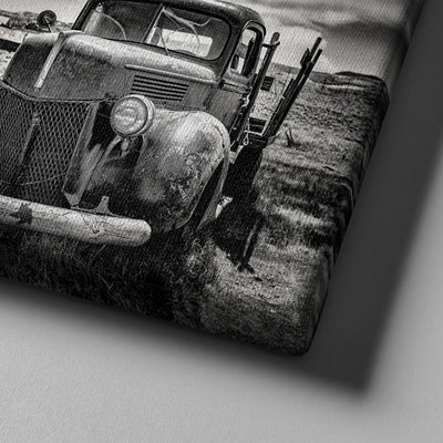Abandoned Truck Canvas Set
