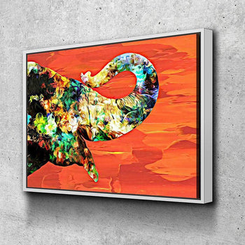 Abstract Elephant Canvas Set
