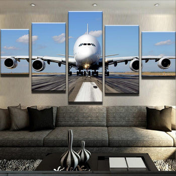 Airplane Canvas Set