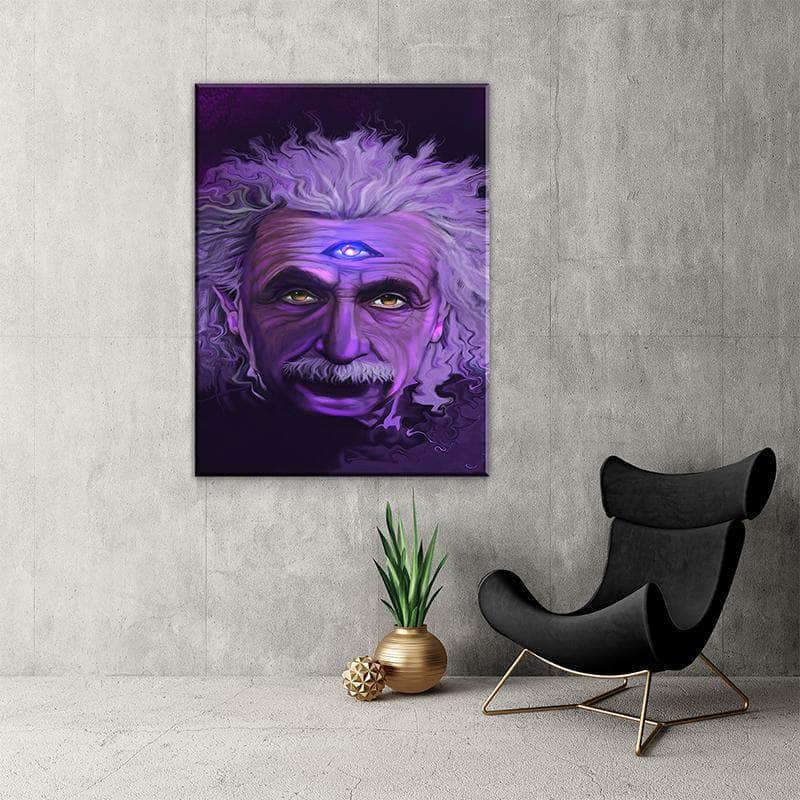 Albert Einstein Canvas Set