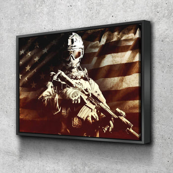 Freedom Soldier Canvas Set