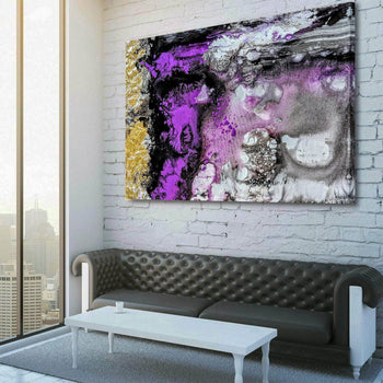 Amethyst Symphony Canvas Set