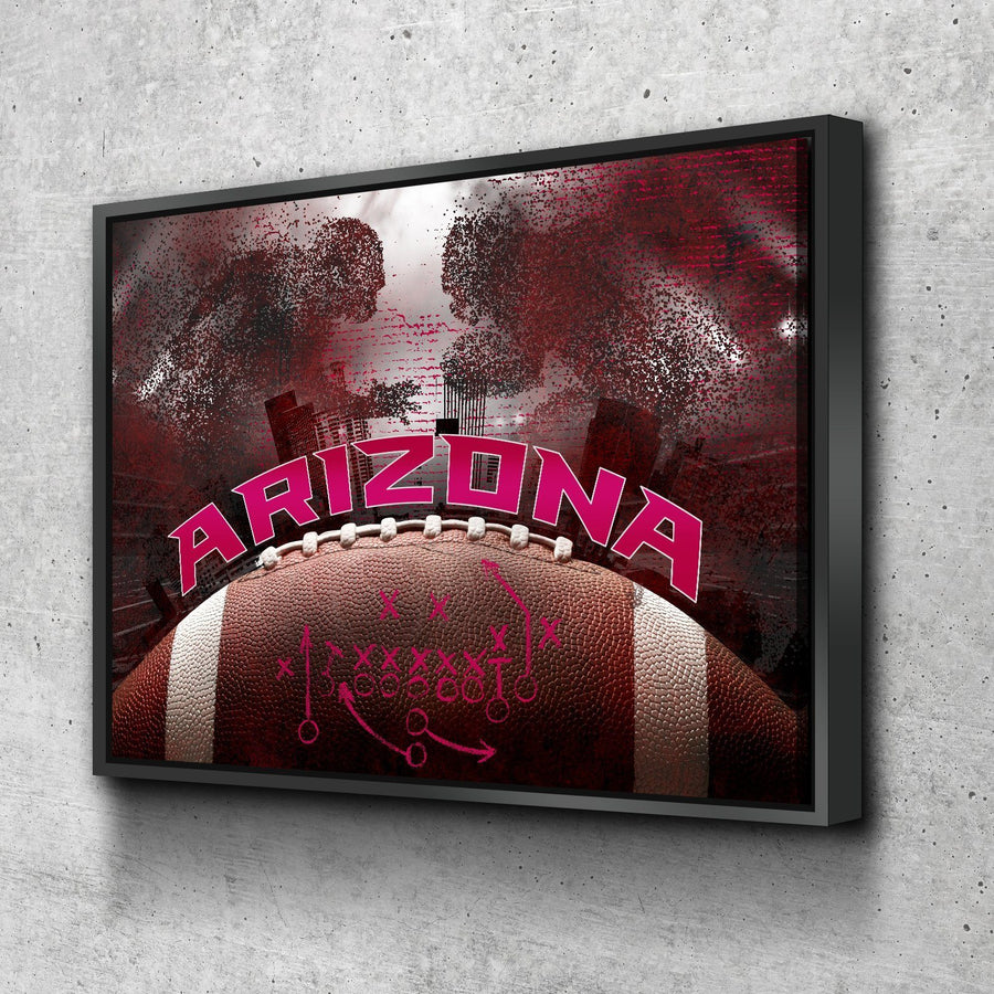 Arizona Football Canvas Set