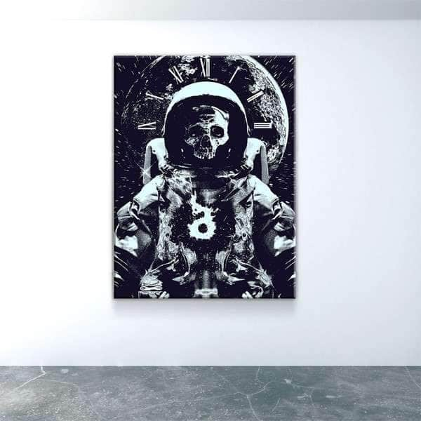 Astroskull Canvas Set