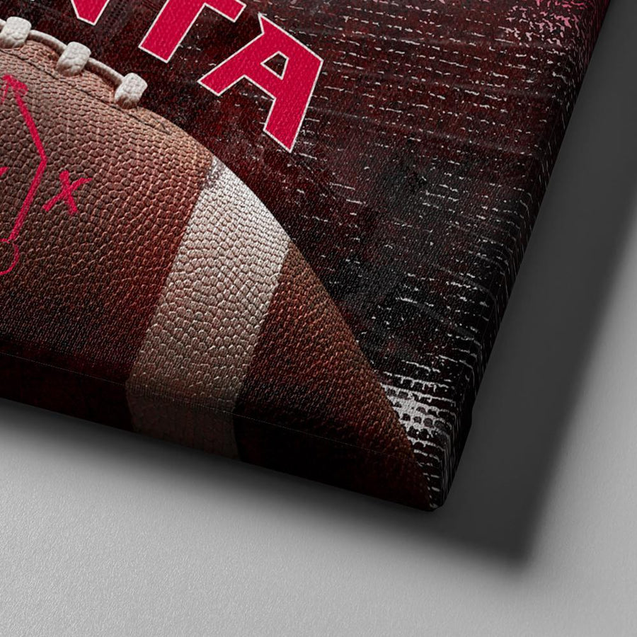 Atlanta Football Canvas Set