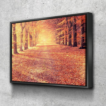 Autumn's Leaves Canvas Set