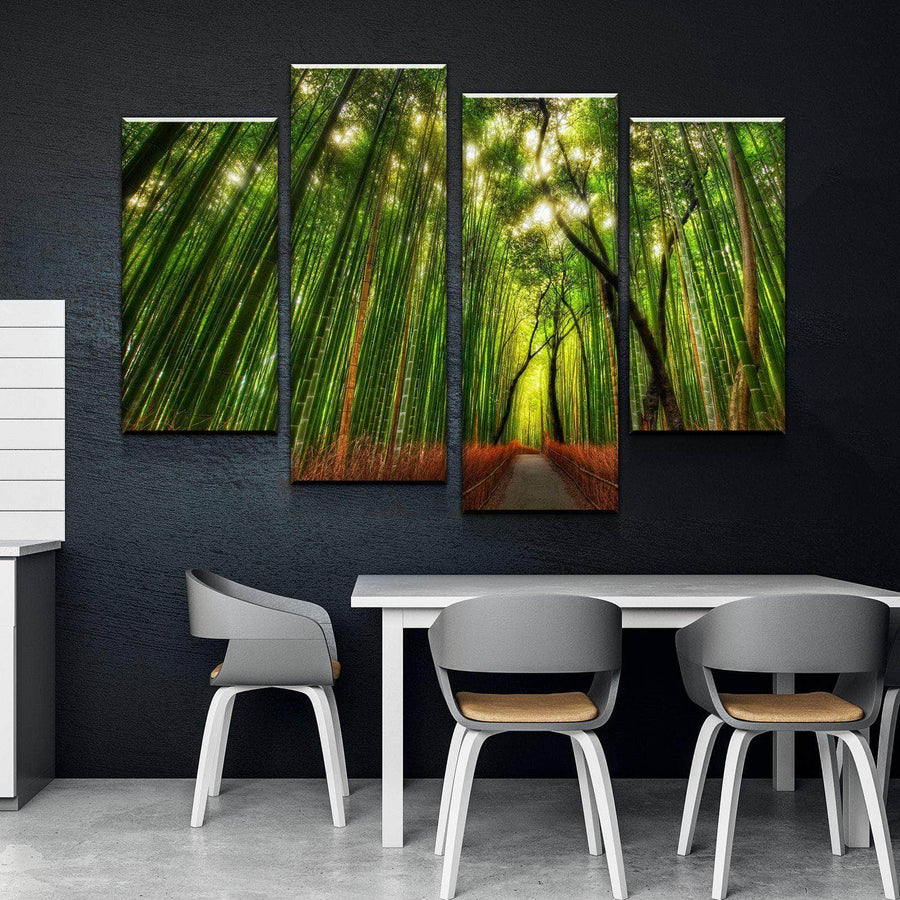 Bamboo Passage Canvas Set