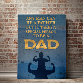 Special Dad Father's Day Canvas Set