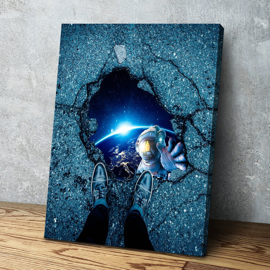 Black Hole Canvas Set
