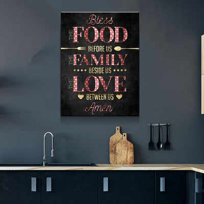 Bless This Kitchen Canvas Set