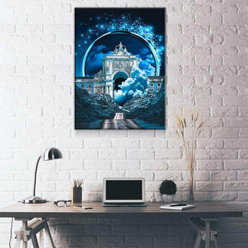 Blue Magic Canvas Set