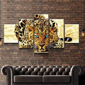 Blue Eyed Jaguar Canvas Set