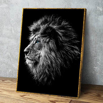 Blue Eyed Lion Canvas Set