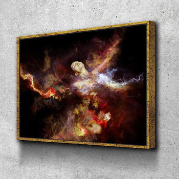 Body On Fire Canvas Set