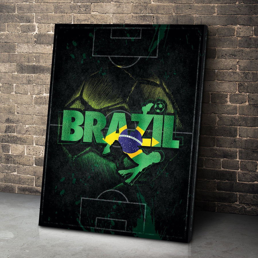 Brazil Soccer Canvas Set
