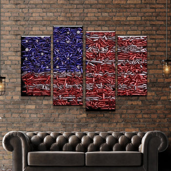 Bullets of Freedom Canvas Set