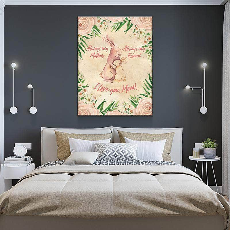 Bunny Mother's Day Canvas Set
