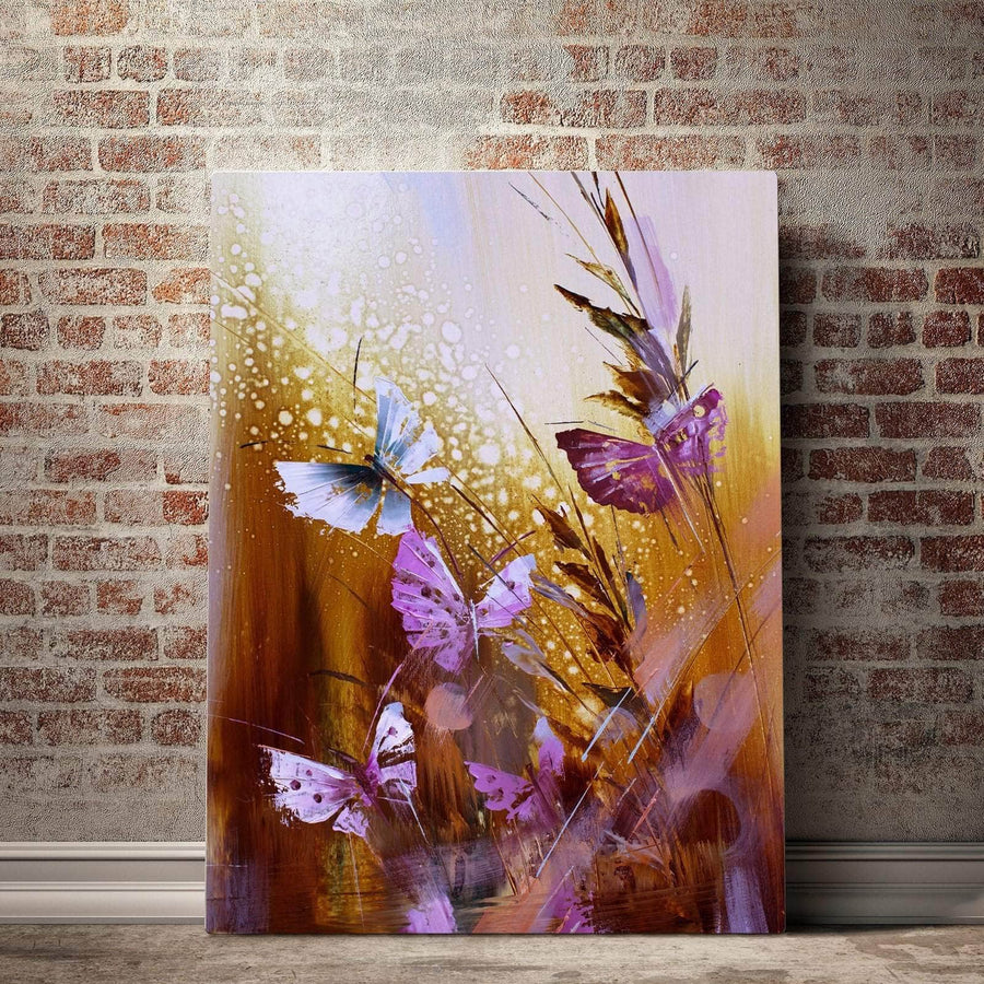 Butterfly Blossom Canvas Set