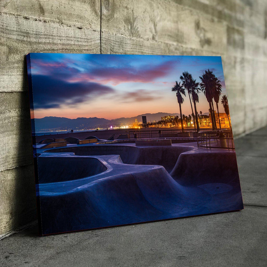 Cali Skate Park Canvas Set