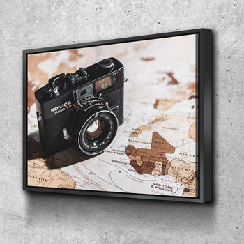 Camera Exploration Canvas Set
