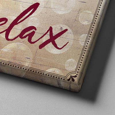 Wash Soak Relax 11 x 14 Canvas Set (Free Shipping)