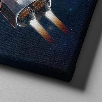 Classified Spacecraft Canvas Set