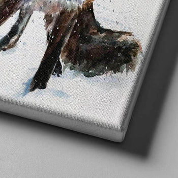 Young Red Fox Canvas Set