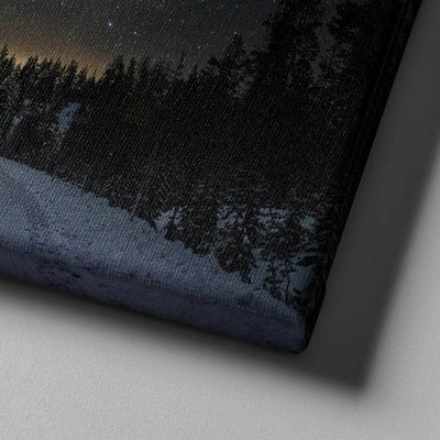 Magical Snowy Road Canvas Set