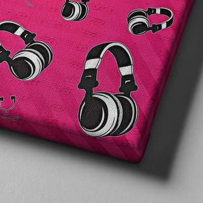 Headphones Canvas Set