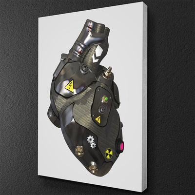 Carbon Heart Canvas Set