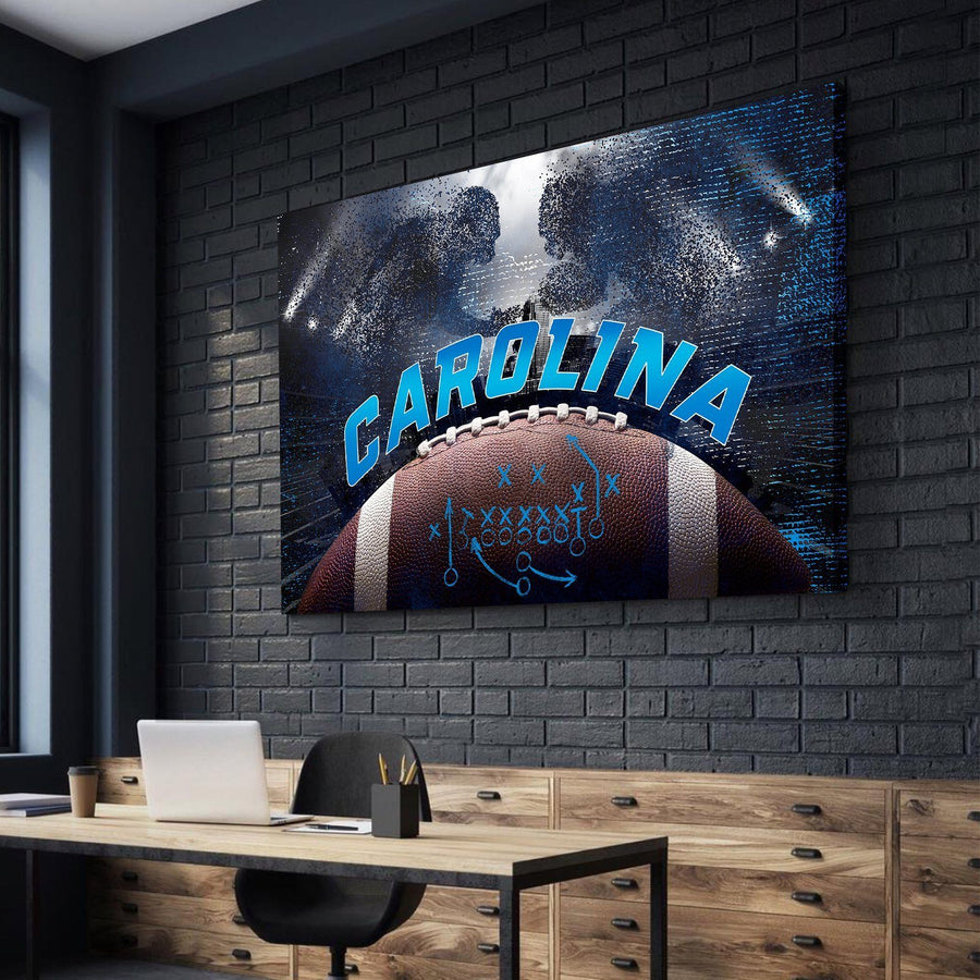 Carolina Football Canvas Set