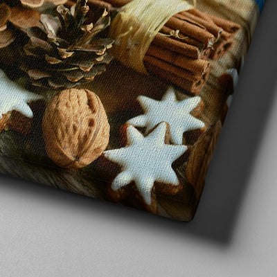 Cinnamon Stars Canvas Set