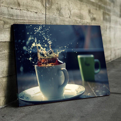 Coffee Splash Canvas Set