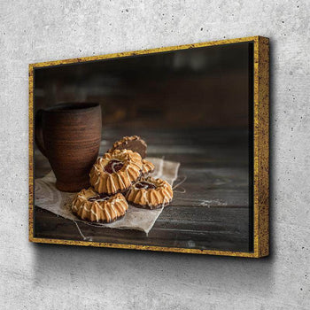 Cookies and Coffee Canvas Set