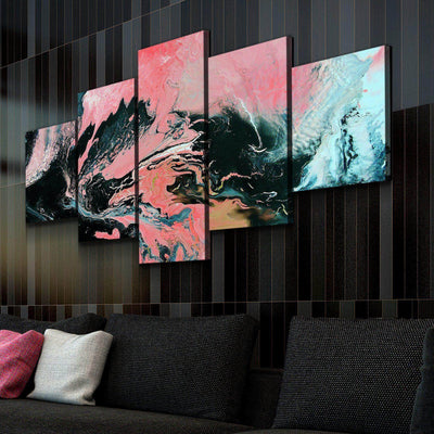 Coral Overture Canvas Set