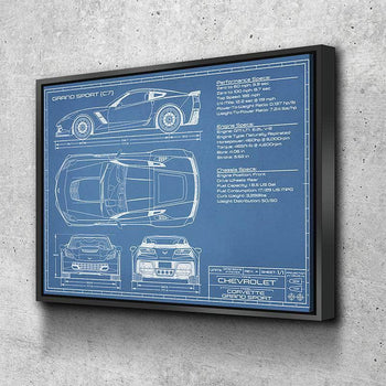Corvette (C7) Grand Sport | 2014-2019 | Canvas Set