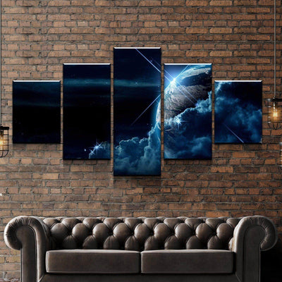 Cosmic Clouds Canvas Set