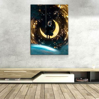 Cosmic Swing Canvas Set