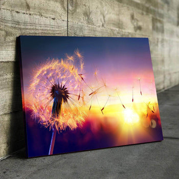Dandelion Sunset Canvas Set