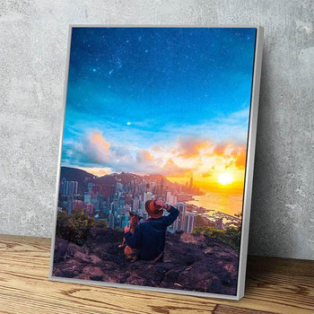 Daylight Departure Canvas Set