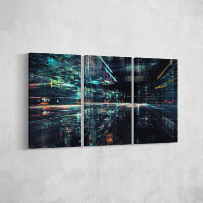 Digital Data Canvas Set
