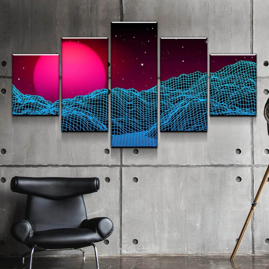 Digital Dunes Canvas Set
