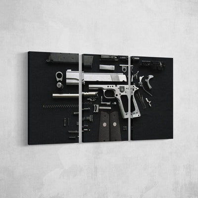 Disassembled Canvas Set