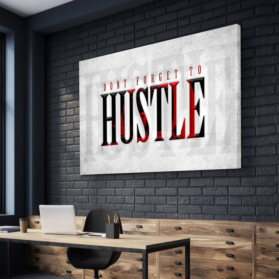 Don't Forget to Hustle Like Tony Canvas Set