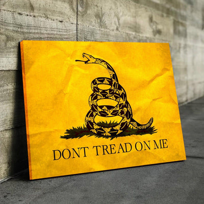 Don't Tread On Me Canvas Set